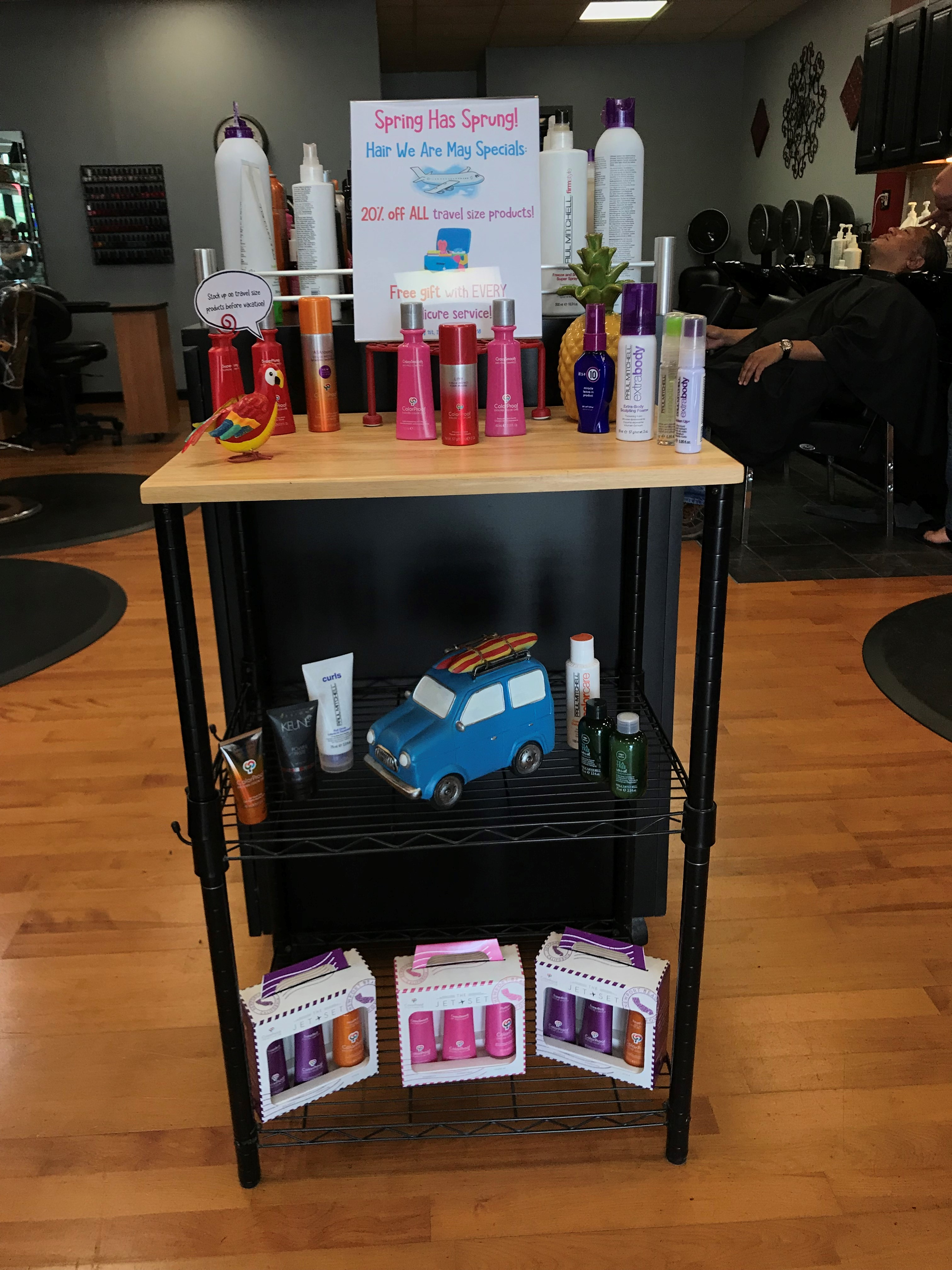 Spring Has Finally Sprung And We Have Deals Popping Up All Over Hair